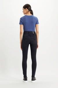 Levi's Mile high waist super skinny jeans black haze, Black haze