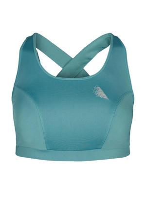 Plus Size Level 2 sportbh blauw