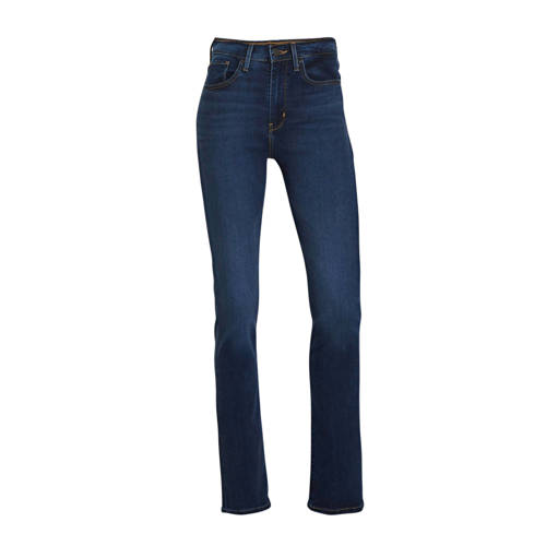 Levi's 724 high waist straight fit jeans bogota calm