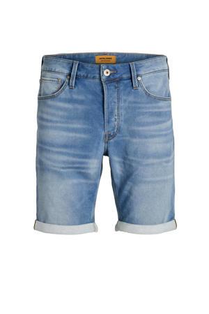 regular fit jeans short blue denim