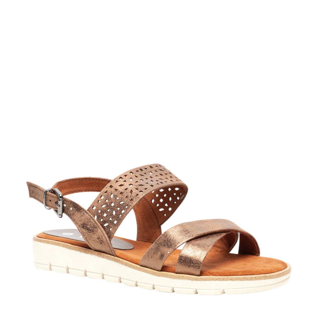 Scapino Nova   sandalen brons, Brons