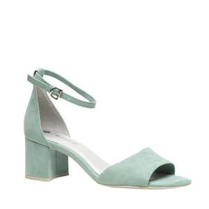 sandalettes mintgroen