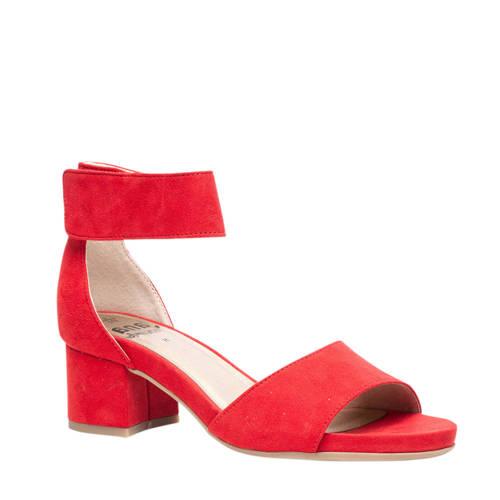 Jana sandalettes rood