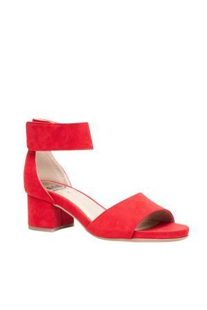 sandalettes rood