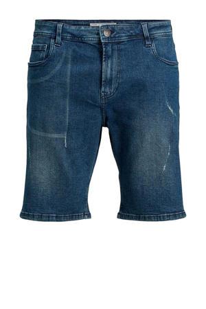 regular fit jeans short Pktakm medium blue denim