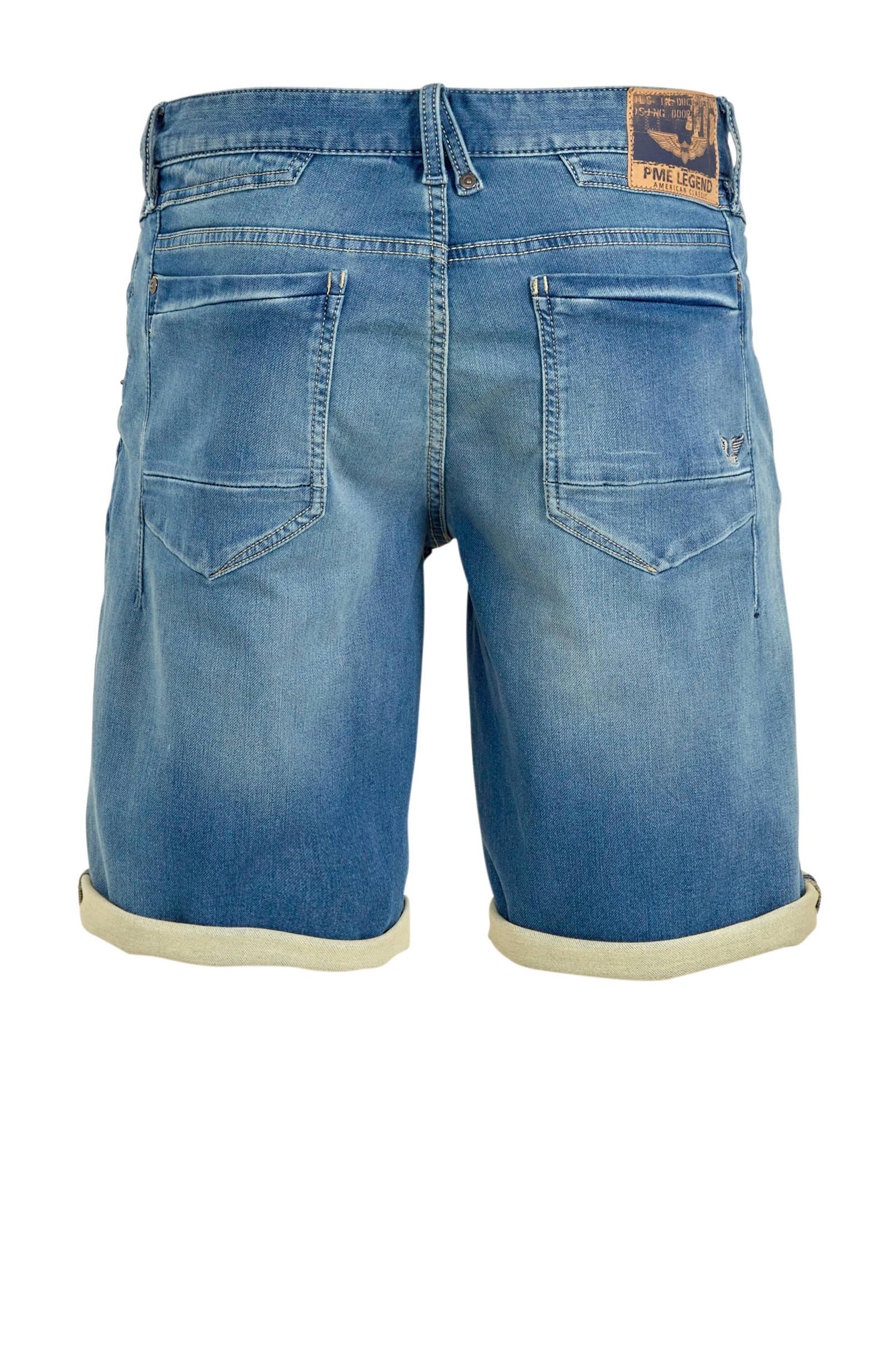 pme legend regular fit jeans short stonewashed 8718955860373 - Pme Korte Broek Heren Sale