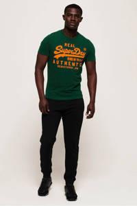 Superdry T-shirt met printopdruk groen, Groen