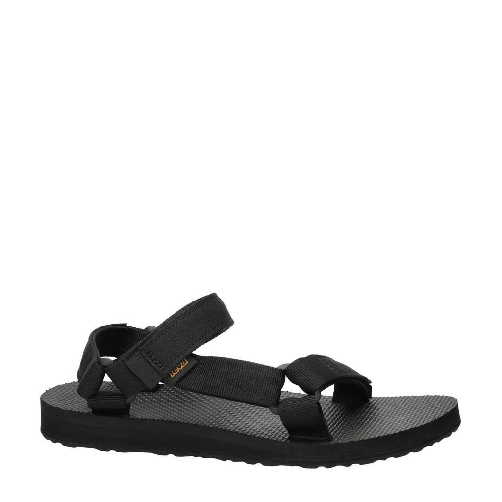 Teva Original Universal  sandalen zwart, Zwart