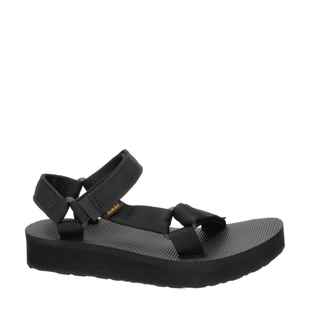 Teva Midform Universal  sandalen zwart, Zwart