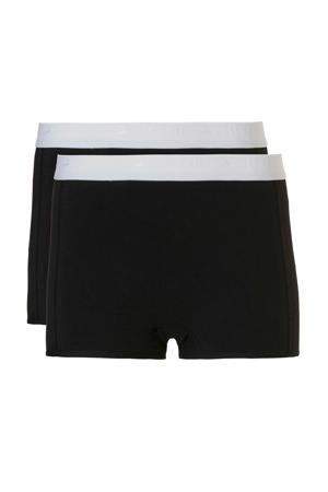 short - set van 2 zwart