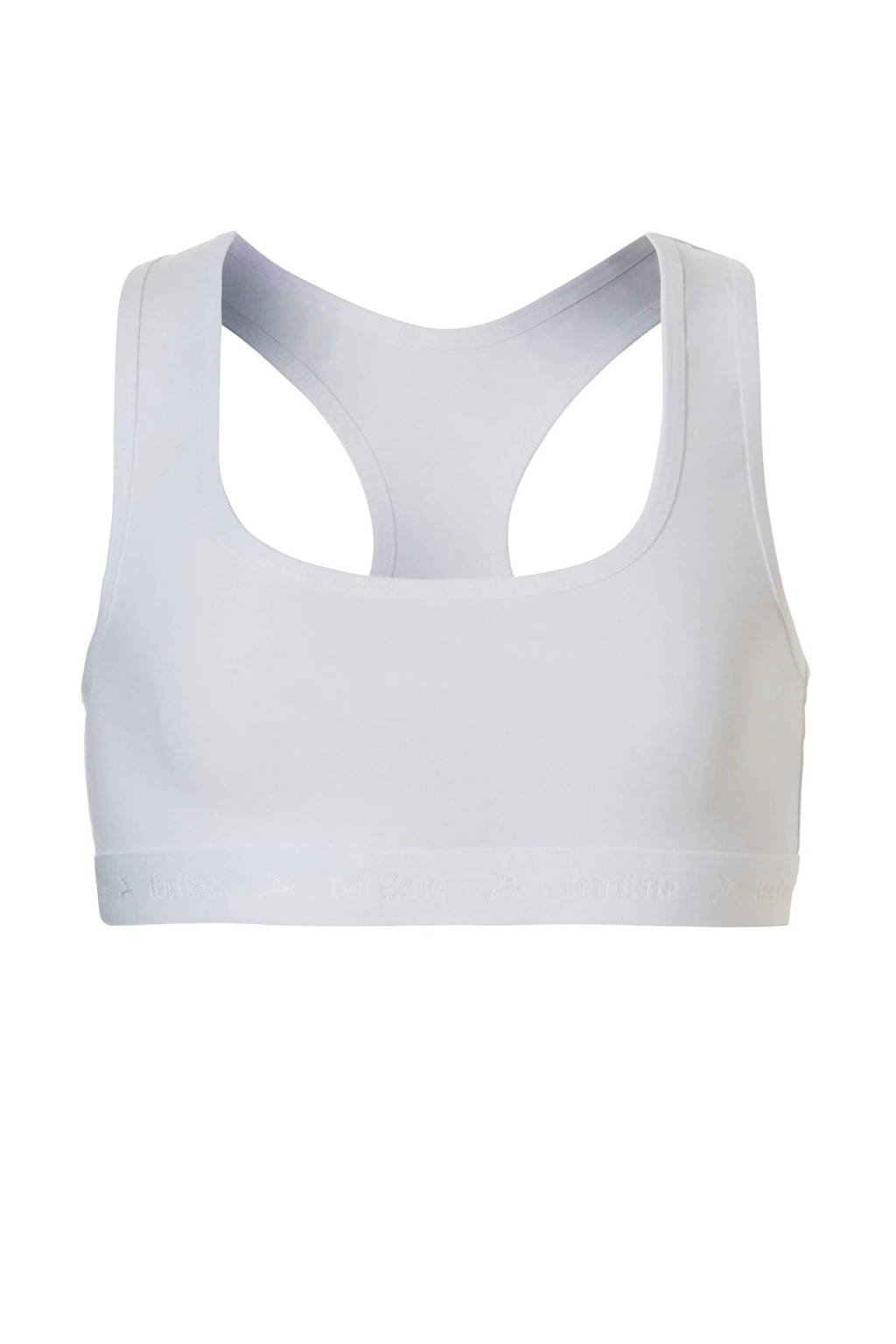 ten Cate Basic teens bh top wit, Wit