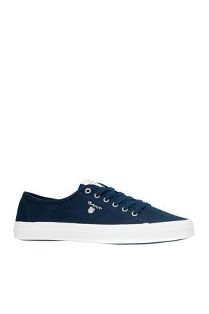 Preptown  sneakers donkerblauw
