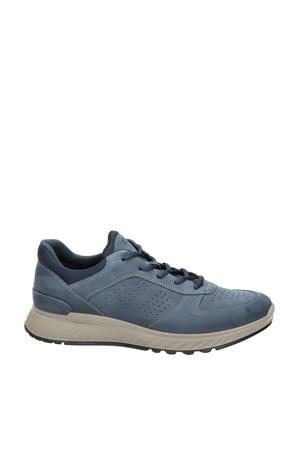 Exostride  nubuck sneakers blauw
