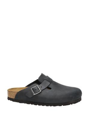 Boston  slippers zwart
