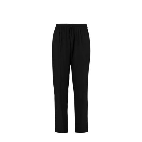 MS Mode high waist tapered fit broek zwart