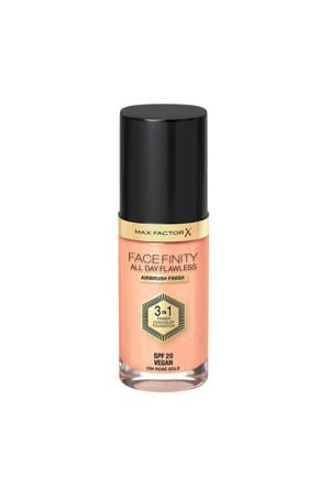 Facefinity All Day Flawless 3-in-1 Liquid Foundation - 064 Rose Gold