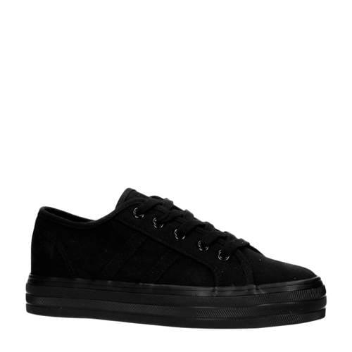 Sacha plateau sneakers zwart