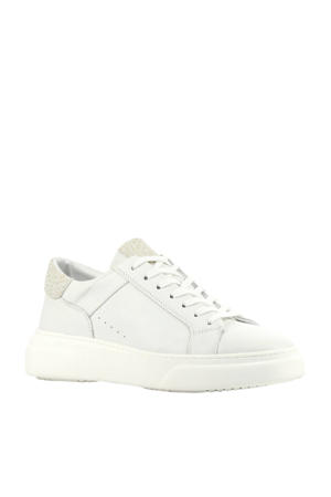 D1917  leren sneakers wit