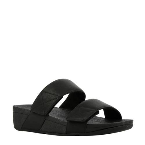 FitFlop TM Mina Slide Shimmer slippers zwart