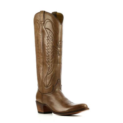 Sendra 8840 leren cowboylaarzen bruin