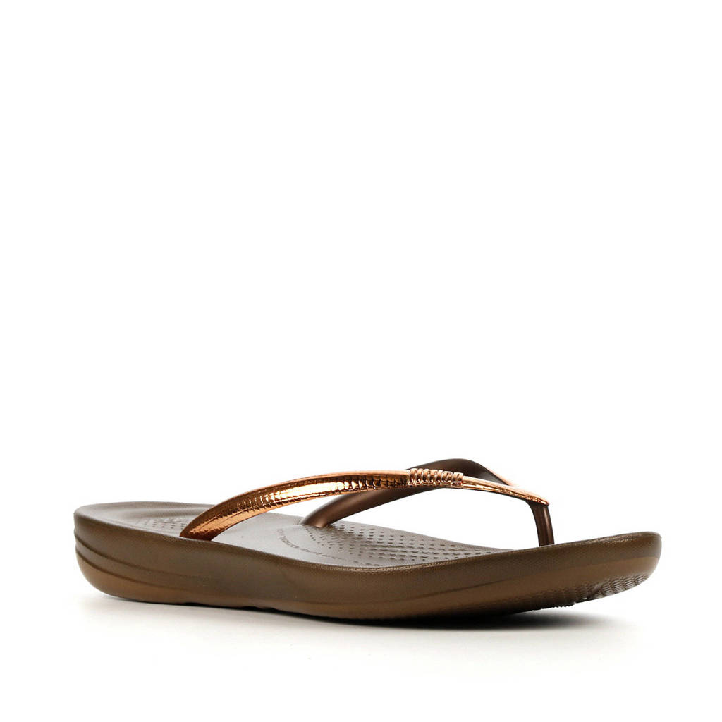 FitFlop TM Iqushion Mirror  teenslippers brons, Brons