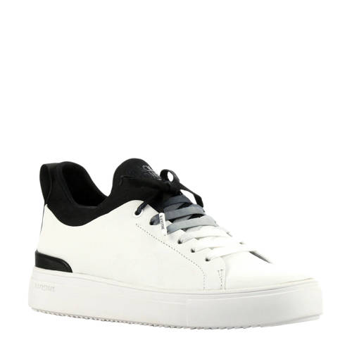 Blackstone SD68 leren sneakers wit