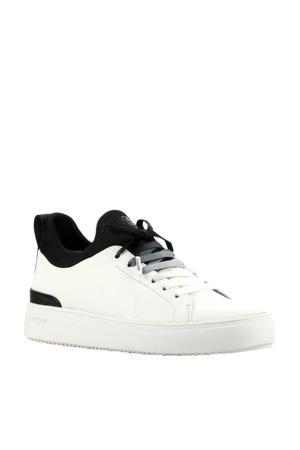 SD68  leren sneakers wit