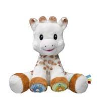 Sophie de Giraf Touch & Play Music interactieve knuffel, Bruin/wit