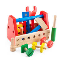 New Classic Toys houten gereedschapskist