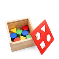 New Classic Toys Vormenstoof Kubus