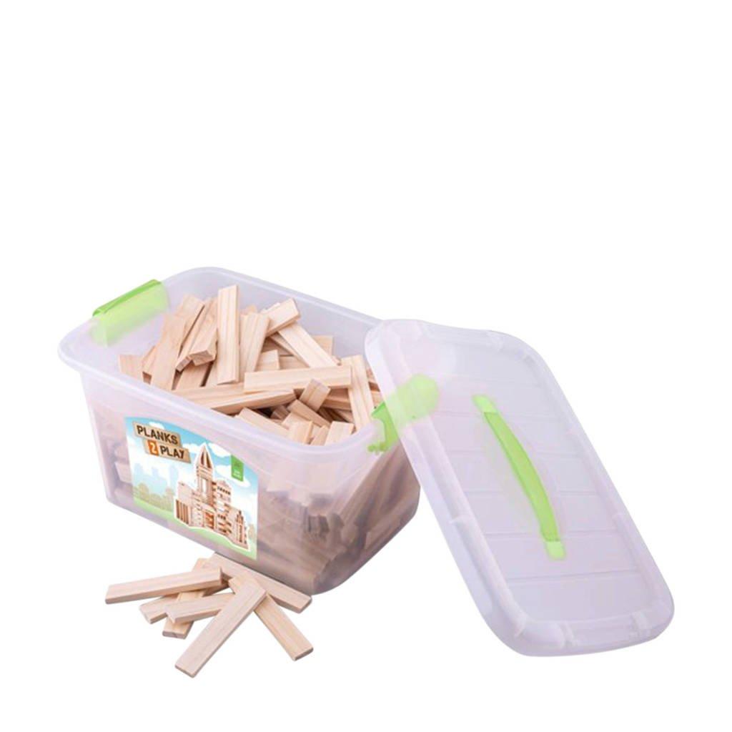 New Classic Toys houten plankjes 200 stuks
