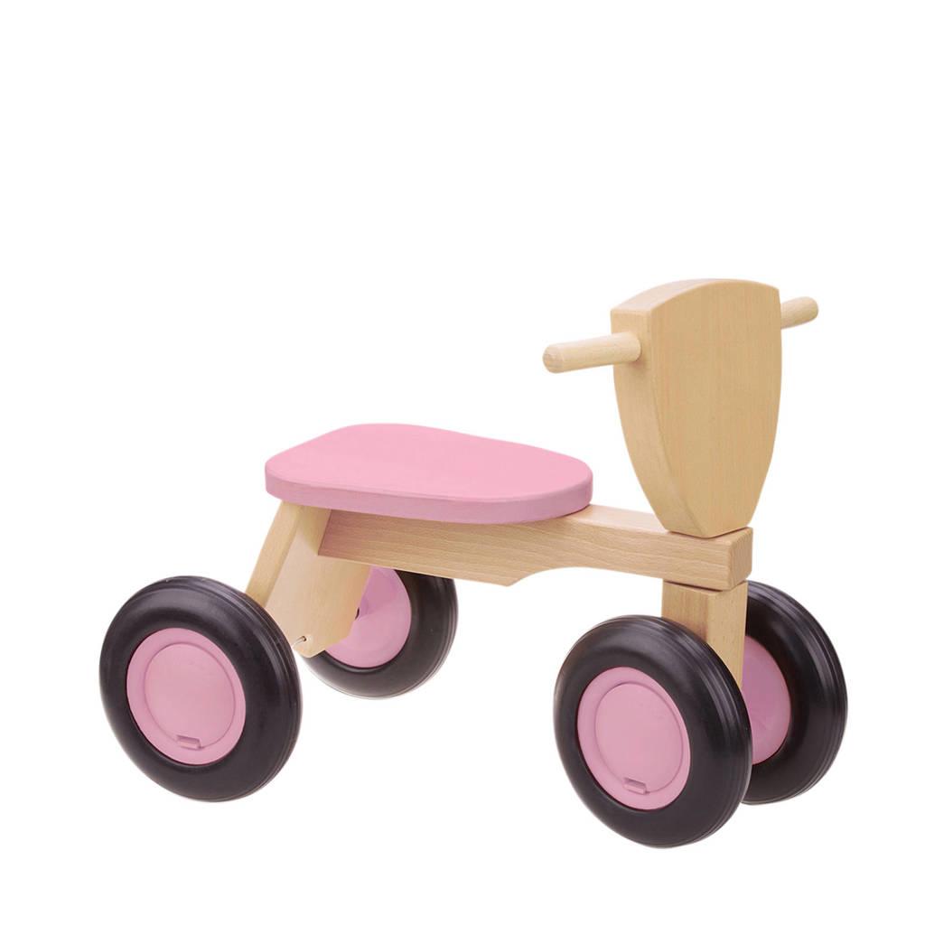 New Classic Toys loopfiets Road Star roze, Roze