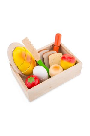houten Snijset Ontbijt Box
