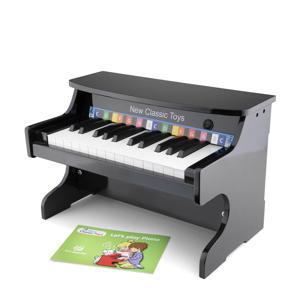 houten E-Piano Zwart 25 toetsen Inclusief Muziekboekje