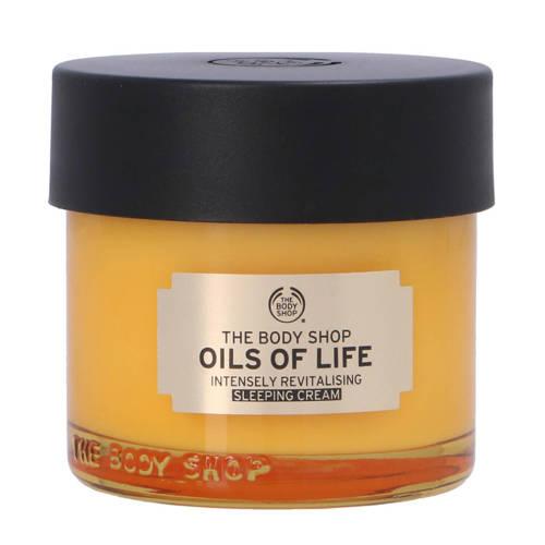 The Bodyshop Oils Of Life Sleeping gezichtscrème 80ml