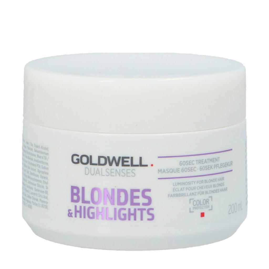 Goldwell Dual Senses B&H 60S Treatment haarmasker - 200 ml
