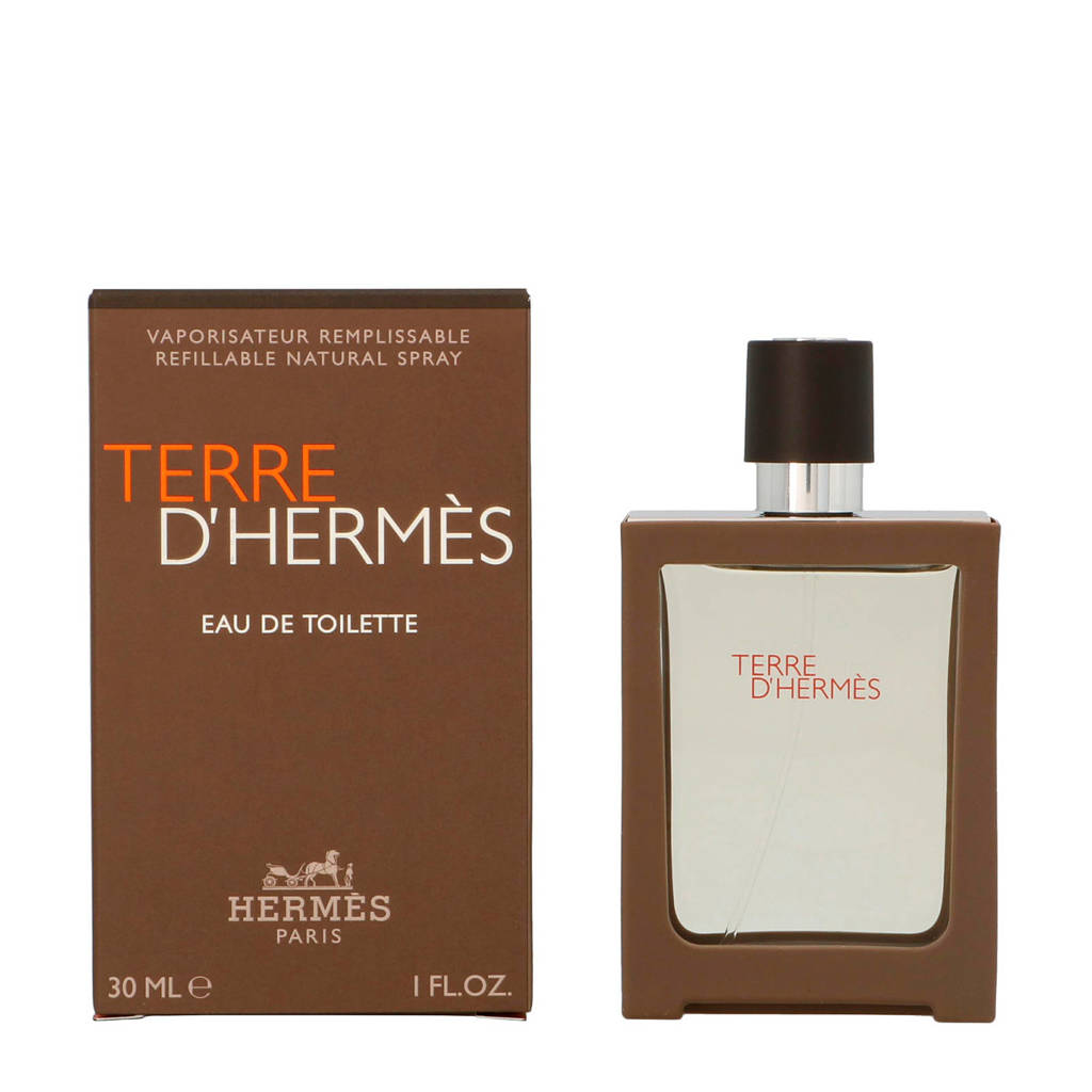 Hermes Paris Terre D'Edt Spray Refillable 30ml - 30 ml