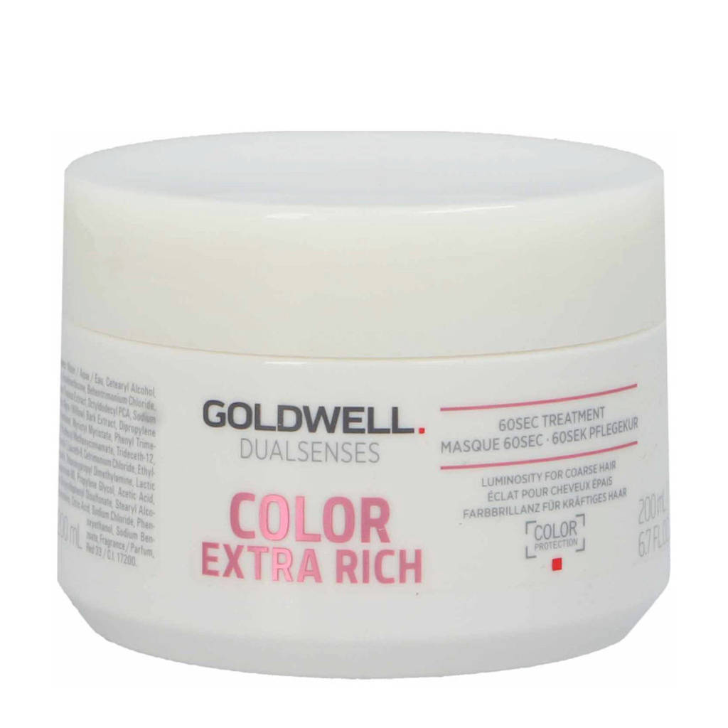 Goldwell Dual Senses Color ExtraRich 60S Treatment haarmasker -  200 ml