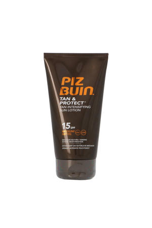 Tan & Protect Intensifying Sun Lotion SPF15 zonnebrand - 150 ml