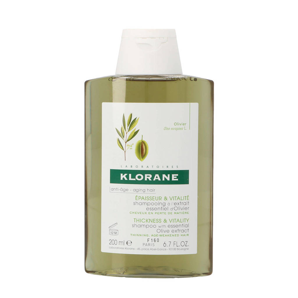 Klorane Essential Olive Extract shampoo - 200 ml