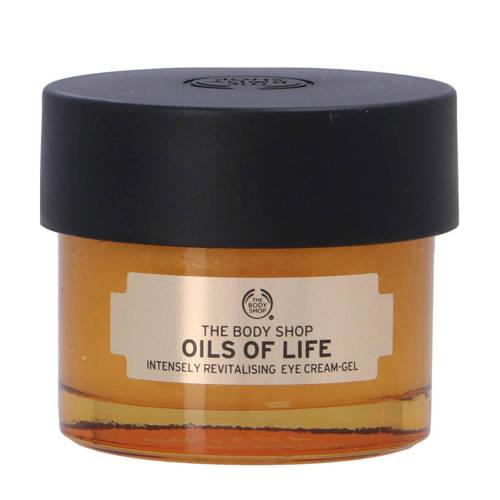 The Bodyshop Oils Of Life Int. Rev. Eye Cream Gel oogcrème 20 ml
