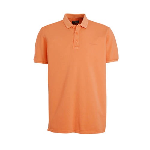 State of Art regular fit polo oranje