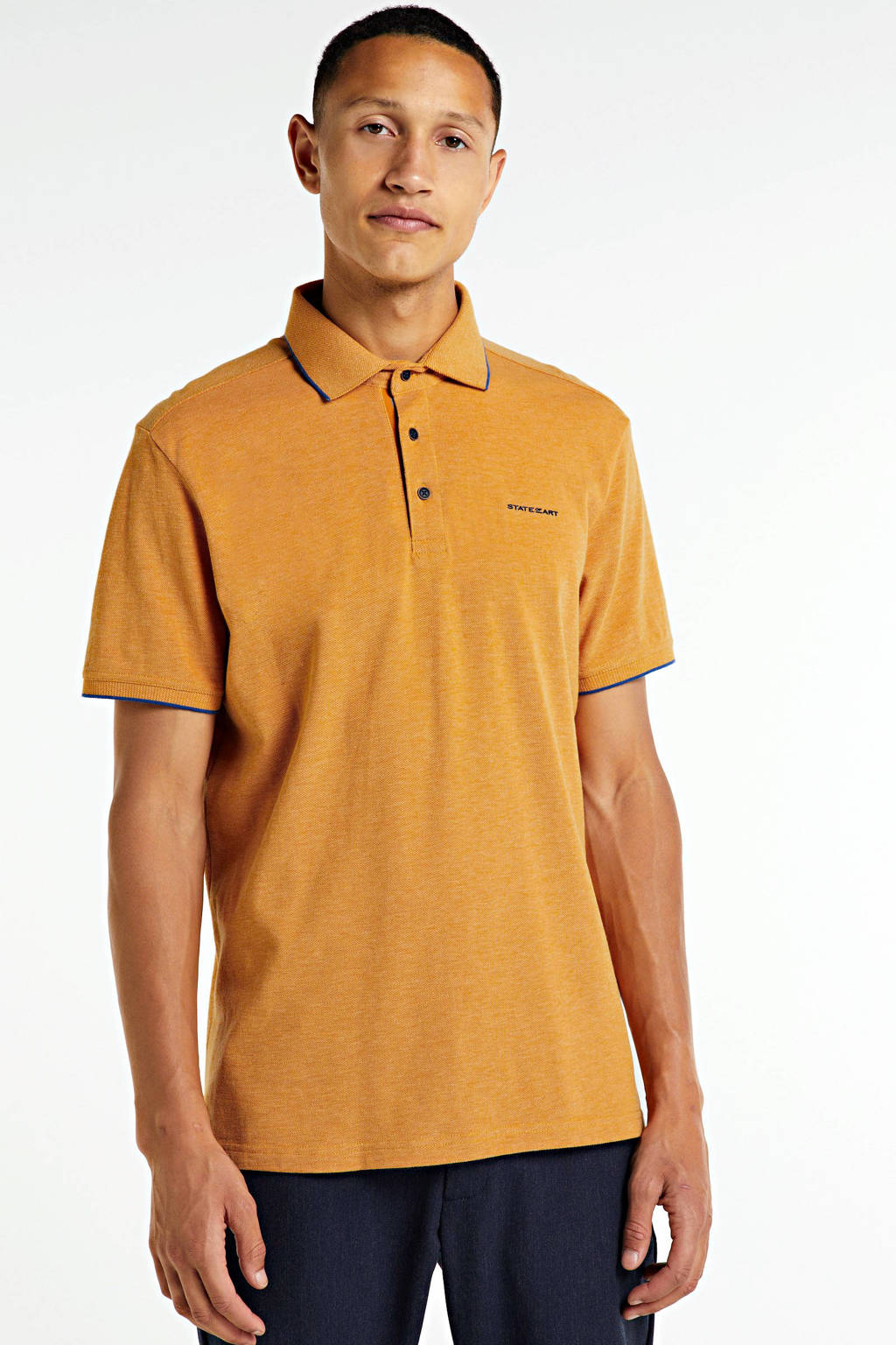 State of Art regular fit polo oranje, Oranje