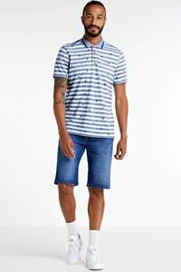 State of Art regular fit jeans short Monza kobalt, Kobalt