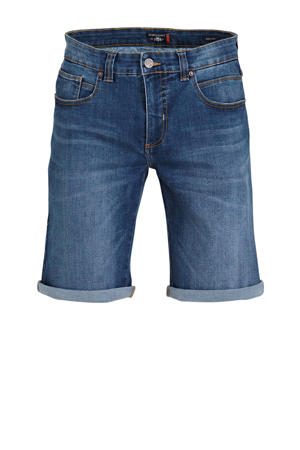 regular fit jeans short Monza kobalt