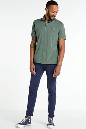 regular fit polo groen