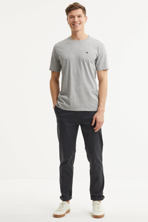 Stuart regular fit chino antraciet