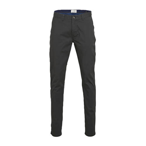 Scotch & Soda regular fit chino donkerblauw