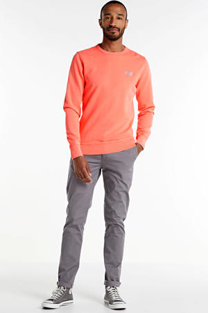 Stuart regular fit chino grijs