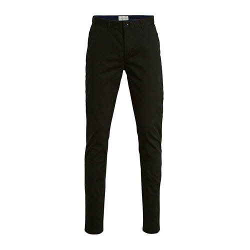 Scotch & Soda slim fit chino zwart